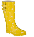Fancy up your feet while you navigate the slush with some sunny wellies. (Target.com, $24.99)